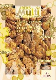 pepper caraway ginger coriander