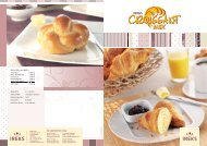 Recipe for yeast plaits: - Ireks-asiapacific.com