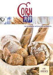 Mix for multigrain malt bread rolls and baguettes