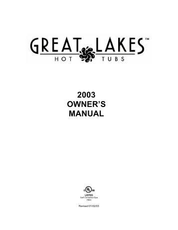 2003 OWNER'S MANUAL