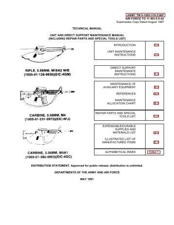 M16 Maintenance Manual TM9-1005-319-23.pdf - CombatRifle.net