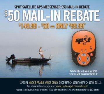 50 MAIL-In REBATE