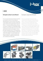 Produktkatalog iBox - ARCON GmbH