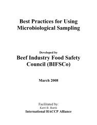 Best Practices for Using Microbiological Sampling