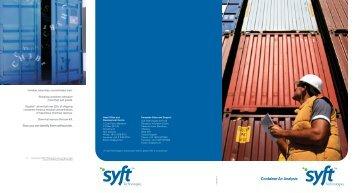 Syft Air Analysis Brochure