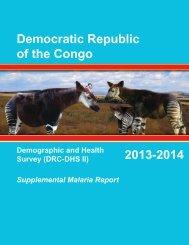 Democratic Republic of the Congo 2013-2014