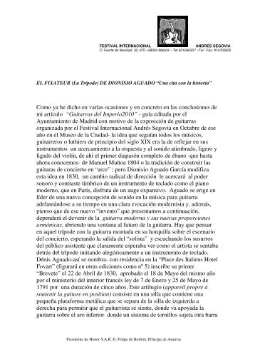 (La Trípode) DE DIONISIO AGUADO - Antonio de Torres