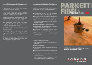 Parkett Fibel