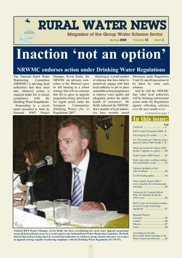 Inaction 'not an option'