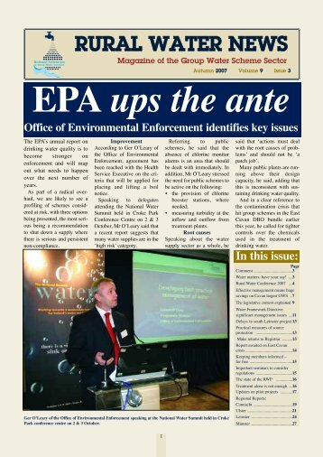 EPA ups the ante