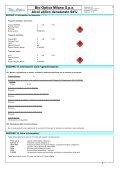 Bio-Optica Milano S.p.a Alcol etilico denaturato 94% - Page 7