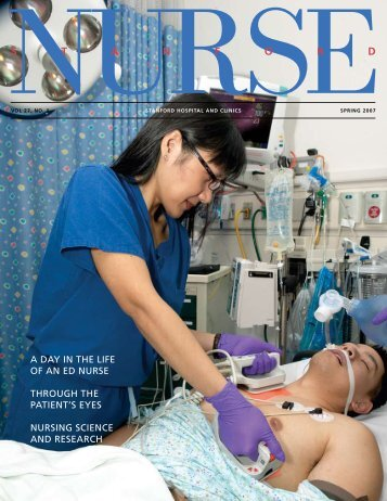 NU RSE S T A N F O R D - Stanford Hospital & Clinics