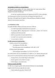 INTERPRETACIÓN ECG PEDIÀTRICO - Asociación Española de ...