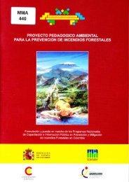 proyecto pedagogico ambiental para la prevención de incendios ...