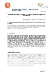 Prevención en la infancia y la adolescencia AEPap / PAPPS