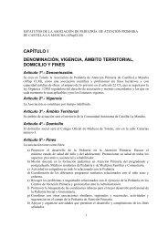 CAPÍTULO I DENOMINACIÓN VIGENCIA ÁMBITO TERRITORIAL DOMICILIO Y FINES