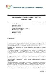 PDF alimentación - Asociación Española de Pediatría de Atención ...