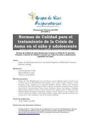 tratamiento de la Crisis de Asma en el niño y adolescente