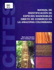 Page 1 Page 2 Manual de identificación de especies maderables ...