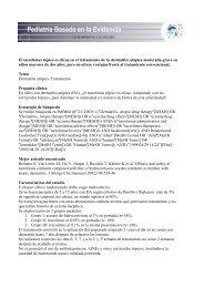 Tratamiento de la dermatitis atópica con tacrólimus tópico