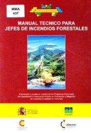 manual tecnico para jefes de incendios forestales - Ministerio de ...