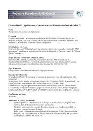 Prevención del raquitismo en el prematuro con diferentes dosis de vitamina D