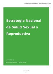 Estrategia Nacional de Salud Sexual y Reproductiva