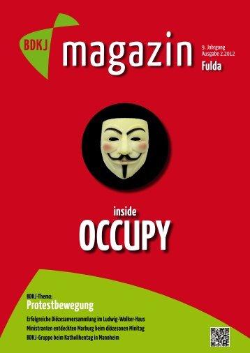 Redaktionsschluss für die nächste Ausgabe ist der 1 ... - BDKJ Fulda
