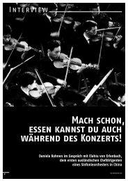 Daniela Kohnen im Gespräch mit Elahiu von ... - Schott Music
