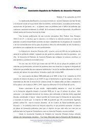 Madrid, 27 de septiembre de 2010 La inadecuada planificación y la ...
