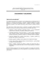 CHUCHERÍAS Y GOLOSINAS