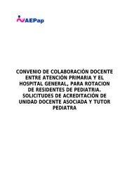 convenio de colaboracin docente entre atencin primaria y el hospital ...