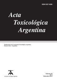 Acta Toxicológica Argentina