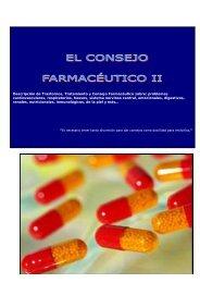 0 Descripción de Trastornos, Tratamiento y Consejo Farmacéutico ...