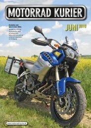 Tenere im Rapsfeld - Motorrad-Kurier