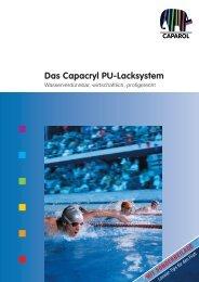 Das Capacryl PU-Lacksystem - Caparol Farben AG