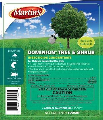 DOMINION TREE & SHRUB