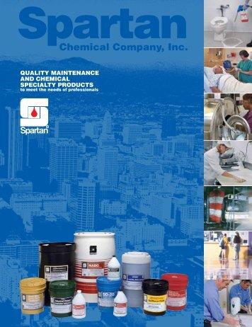 QUALITY MAINTENANCE AND CHEMICAL SPECIALTY PRODUCTS