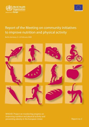 Report of the Meeting on community initiatives to ... - WHO/Europe
