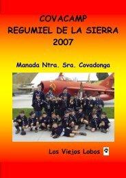 COVACAMP REGUMIEL DE LA SIERRA 2007