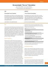 "Dermatolojide ""İnverse"" Hastalıklar - Dermatoz.org"