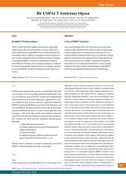 Bir EMPACT Sendromu Olgusu - Dermatoz.org