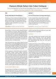 Psoriasis: Klinik Tiplere Göre Tedavi Yaklaşımı - Dermatoz.org