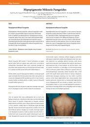 Hipopigmente Mikozis Fungoides - Dermatoz.org