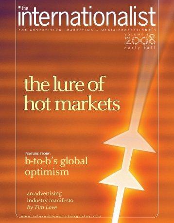 Early Fall 2008 - The Internationalist Magazine
