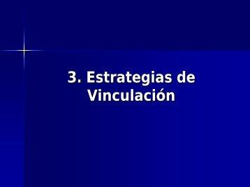 3 Estrategias de Vinculación