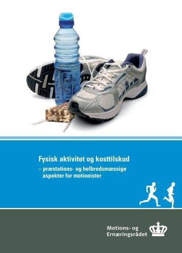 Fysisk aktivitet og kosttilskud