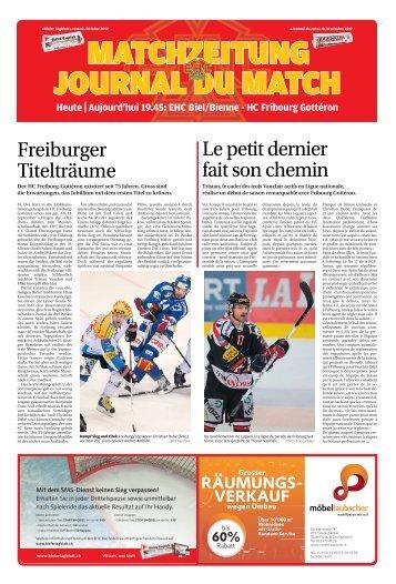 Freiburger Titelträume Lepetitdernier faitsonchemin - Journal du Jura