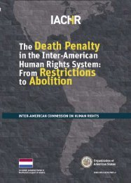death penalty in the Inter-American System - Organization of ...