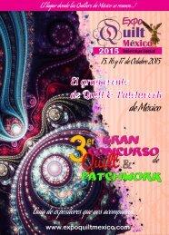 Revista Oficial Expo Quilt México Internacional 2015